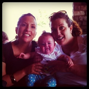 Mom, Avery, and Brook